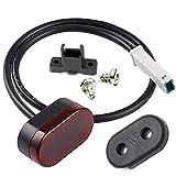 Vestigia® - Reemplazo de la lámpara LED trasera para Xiaomi M365 y Pro Scooter eléctrico - Lámpara de luz de guardabarros trasero - Piezas de repuesto para E-scooter