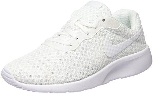 Nike Tanjun (GS), Mädchen Gymnastikschuhe, Weiß, 38.5 EU (5.5 UK)