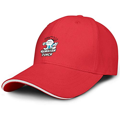 GGFDC Women's Men's How About a Nice Hawaiian Punch Adjustable Dad BaseballStrapback Snapback Hats