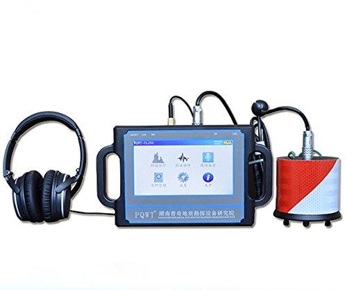 Detector de fugas de agua subterráneo 2 metros, sensor ultrasónico profesional de fugas de agua tubos subterráneos Detector de alarma de fugas de agua
