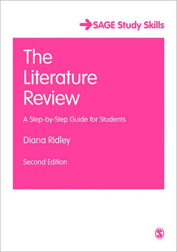 Compare Textbook Prices for The Literature Review: A Step-by-Step Guide for Students SAGE Study Skills Series Second Edition ISBN 9781446201435 by Ridley, Diana