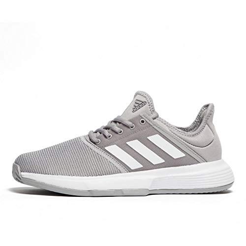 Adidas GameCourt W, Zapatillas de Deporte Mujer, Multicolor (Grasua/Ftwbla/Gritre 000), 40 EU