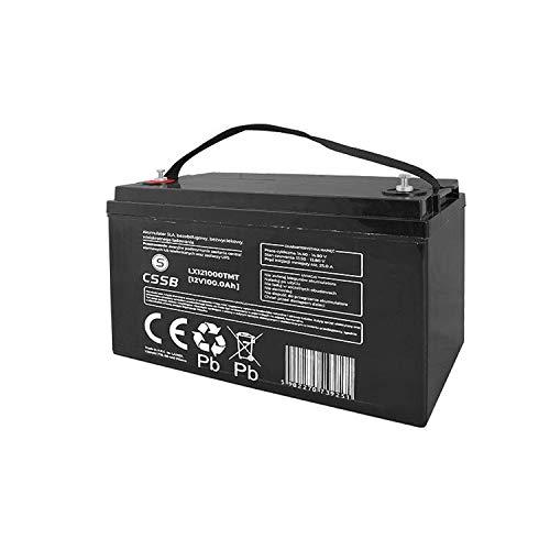 CSSB : Batterie à décharge lente GEL, 12V 100Ah