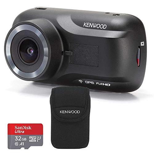 Kenwood DRV-A301W & 32GB SDHC Card + Carry Case Bundle