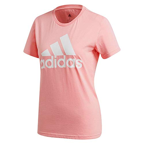 adidas W Bos Co Tee, T-Shirt Donna, Glory Pink, L