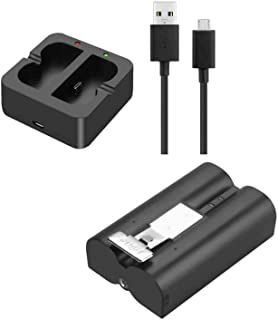 Ring Battery,Rechargeable 3.65V Lithium-Ion Battery and Charging Station,Battery That is Compatible with Ring, for Video D...