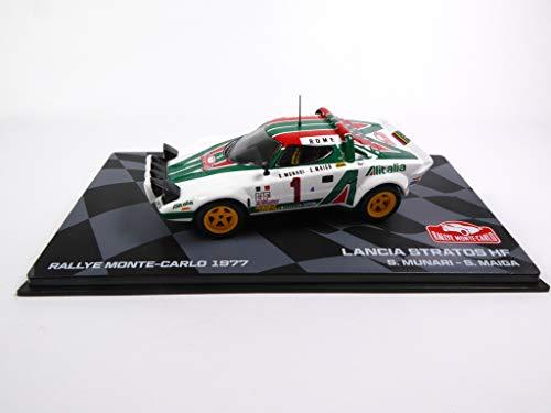 Eaglemoss Lancia Stratos HF 1977 Winner 1977 Monte Carlo Munari 1/43 Ixo (BR3)