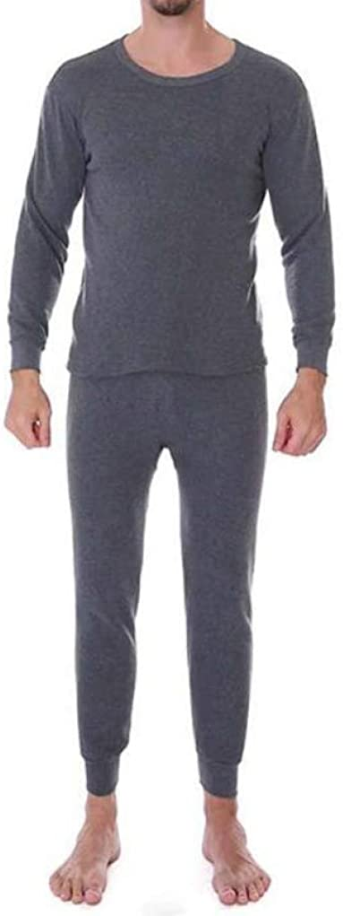 Thermal Underwear for Men Winter Warm Fleece Lined Base Layer Long John Set