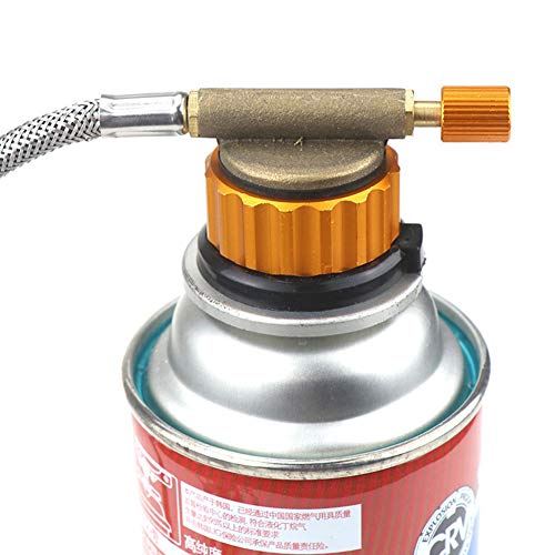 Whiie891203 Cabezal De Conversión De Estufa De Gas, Acampar Al Aire Libre Picnic Estufa Quemador Adaptador Conversión Conector De Horno De Gas