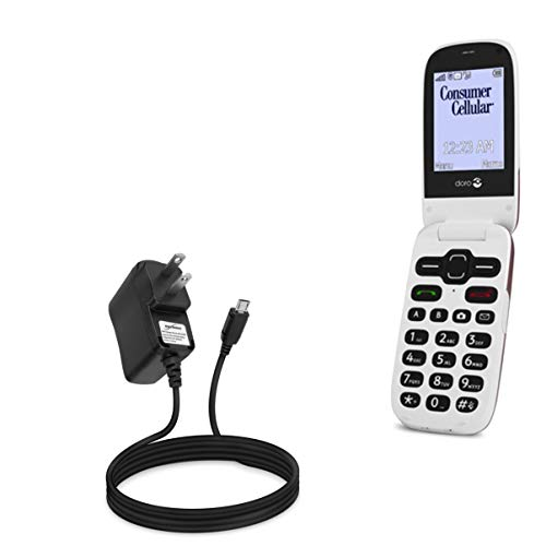 Charger for Doro PhoneEasy 626 (Charger by BoxWave) - Wall Charger Direct, Wall Plug Charger for Doro PhoneEasy 626, Doro 7050 | PhoneEasy 626