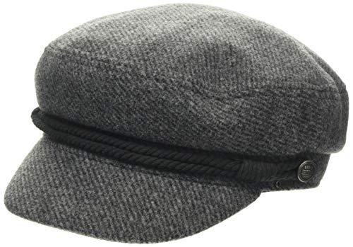 Barts Damen Skipper Cap Baskenmütze, Grau (Grey 0002), One Size (Herstellergröße: Uni)