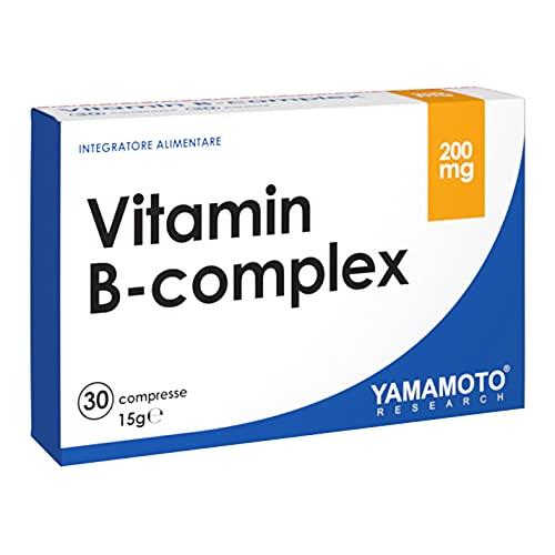 Ultra B-COMPLEX integratore alimentare di vitamine del gruppo B ad alto dosaggio (1 Confezione (30 capsule))