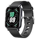 Smart Watch per Android Samsung Phones, Fitness Tracker con monitoraggio della pressione sanguigna, frequenza cardiaca e misuratore di ossigeno nel sangue, IP68 Smart Watch