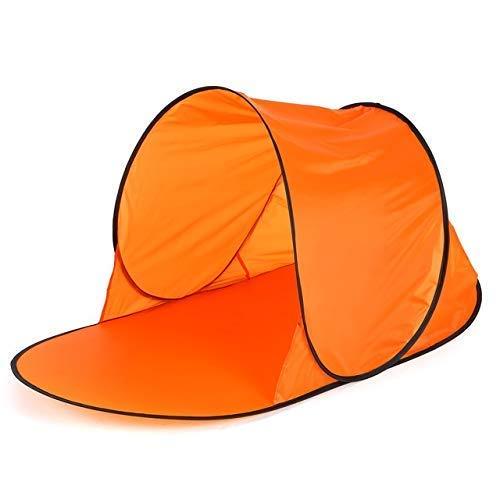 FYSY Tienda de la Playa Pop-up Tent refugios en Verano mar Sun jardín al Aire Libre Tienda de campaña Resistente al Agua (Color: Gris Estrellada) fangkai77 (Color : Orange)