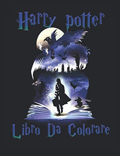 Harry potter Libro Da Colorare: Illustrazioni di alta qualità Libro da colorare per ragazzi , rilassarsi e alleviare lo stress