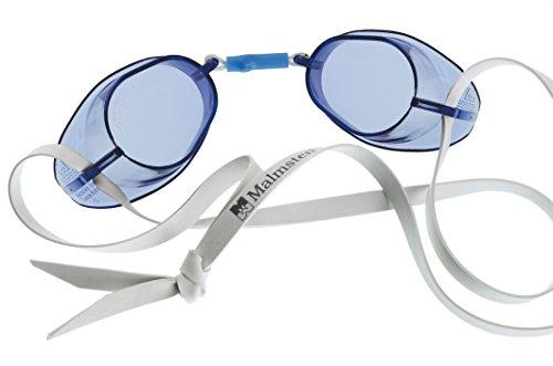 Malmsten Schwedenbrille Standard Schwimmbrille, Blau, Einheitsgröße