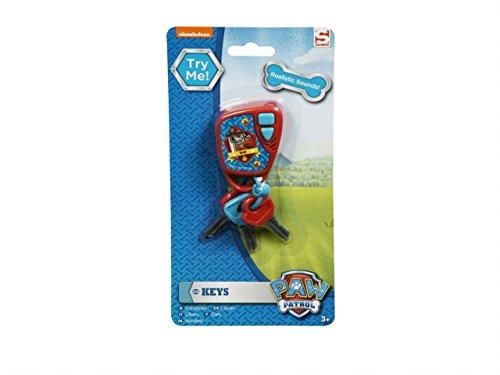 Sambro 3053PWP Schlüssel mit Sound blau/rot