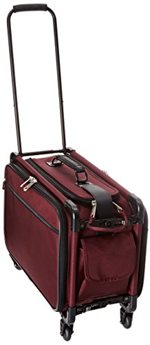 TUTTO 20 Inch Retulation Carry-On, Burgundy, One Size -  TUTTO Luggage, 4020RCO