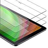 Cadorabo 3X Vidrio Templado Compatible con Samsung Galaxy Book (10.6' Zoll) (SM-W627 / W620) en Transparencia ELEVADA - 3X Vidrio Protector de Pantalla en dureza 9H con compatibilidad Touch 3D