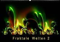 Fraktale Welten 2 (Wandkalender 2022 DIN A2 quer): Berechnete Bilder von faszinierender Vielfalt (Monatskalender, 14 Seiten )