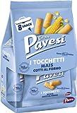 Gran Pavesi Snack Tocchetti, Snack al Mais Cotti al Forno, senza Olio di Palma, 8 x 256g