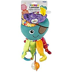 LAMAZE Captain Calamari Clip on Pram Toy