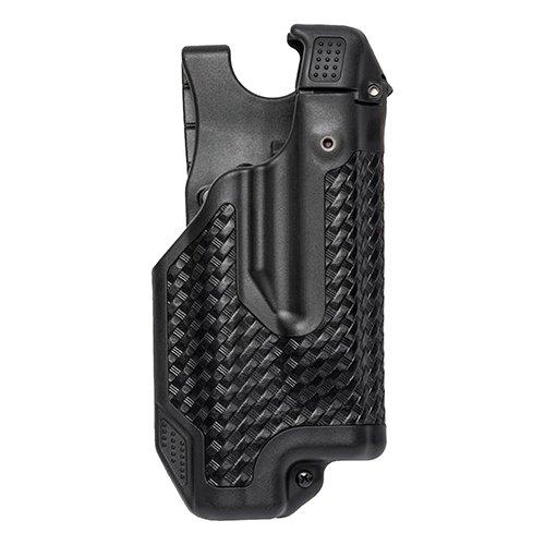 BLACKHAWK!, Epoch Level 3 Light Bearing Duty Holster, Sig Sauer P250 and P320, Basketwaeve Black, Right Hand