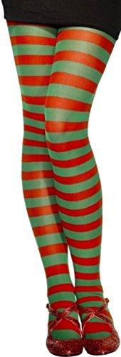 Best Dressed-TT dames groene en rode gestreepte broek Item Code: W51128/JL011
