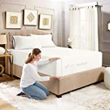 Empyrean Bedding Extra Deep Fitted Sheets Queen Size - 24' Extra Deep Fitted Sheets Set with 2 Pillowcases - 3 Piece Extra Deep Fitted Bed Sheet - Extra Deep Queen Fitted Bed Sheets - White