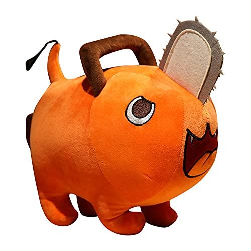 JINGZHONG Anime Motosierra Hombre Pochita muñecos de Peluche Dibujos Animados Animal Almohada cojín colección Cosplay cumpleaños para niños 25 / 40cm