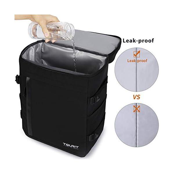 41FR5vdyCiL. SS600  - TOURIT - Mochila refrigeradora de 32 latas de Gran Capacidad, con Aislamiento para Hombres y Mujeres, para Picnic…