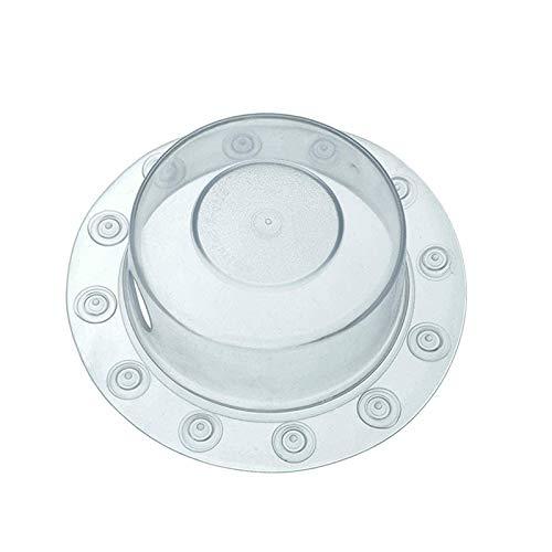 Vasko - Bañera con tapa de drenaje con ventosa, junta de tapón de bañera para bañera más profunda para drenaje de baño