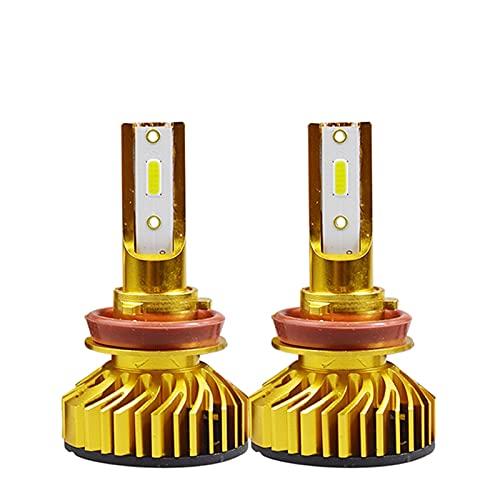 LXH-SH Ampadina para Coches Luz de Cabeza de Coche LED Ampolla H7 H4 LED H1 H119006 9005 HB3 HB4 9012 HIR2 72W 10000LM 6500K 12V 24V Auto Faro Luces LED para Coches (Socket Type : H1)