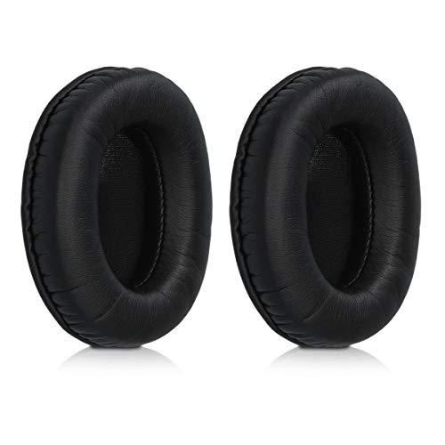 kwmobile 2X Almohadillas para Auriculares Compatible con Philips L1 / L2 Fidelio L2BO - Almohadilla de Cuero sintético para Cascos