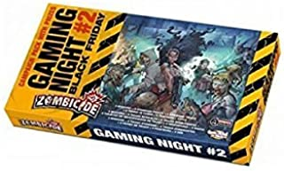Cool Mini Or Not Zombicide Gaming Night Kit #2 Black Friday Board Game by Cool Mini Or Not
