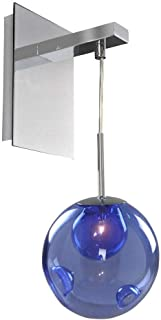 Kalco Lighting 309520CH/SAPPH 1 Light Wall Bracket