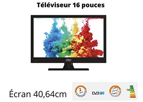 ANTARION - Televisión HD LED de 15,6 pulgadas para camping Cars 220 V/12 V/24 V