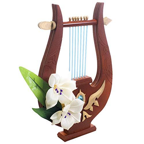 Genshin Impact Venti Cosplay Harp Prop Barbara Weapons Accessories Model