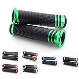 Puños compatibles con Suzuki VS/VL/VX 600, 750, 800 (22/verde)