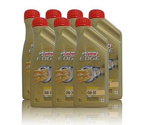 Castrol Edge Titanium FSTTM 0W-30 7 x 1 litro de aceite de motor BMW Longlife-04