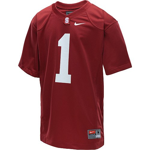 Nike Stanford Cardinal #1 Boys Football Replica Jersey (YTH L)