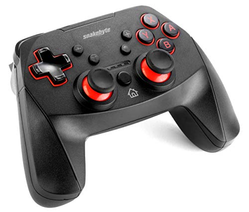 snakebyte Switch GAME:PAD S PRO - Kabelloser Pro Controller - Wireless Bluetooth - für Nintendo Switch