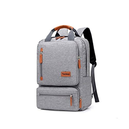 GFDFD Zaino Laptop College School Zaino Student Bag Multi Funzione Casual Business Travel Durable Backpack