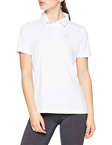 Odlo Damen Polo s/s CARDADA Poloshirt, White, S