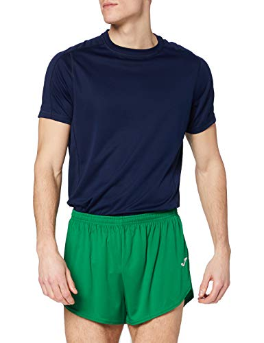Joma Record Pantalones Cortos, Niños, Verde, 2XS