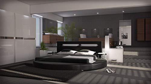 Sofa Dreams Komplettbett Night Rundbett mit Matratze und Lattenrost 180 x 200 cm