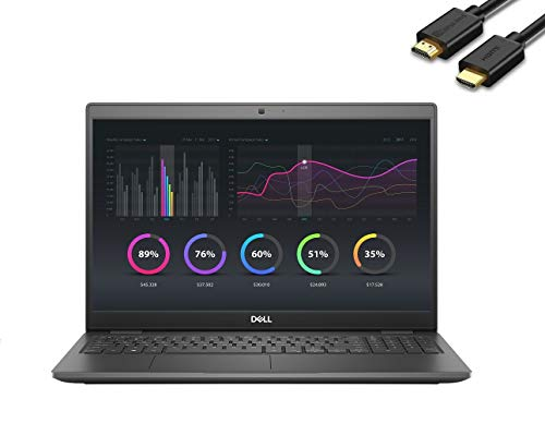 2020 Dell Latitude 3000 3510 15.6' Full HD FHD (1920x1080) Business Laptop (Intel Quad-Core i7-10510U, 32GB RAM, 1TB SSD) Type-C, HDMI, Webcam, Windows 10 Pro + IST Computers HDMI Cable