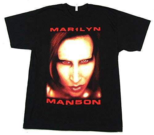 Marilyn Manson Big Face Jumbo Bigger Than Satan Black T Shirt New Merch