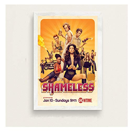 chuangyue Shameless Series Show New Season Kunst Malerei Seide Leinwand Poster Wall Home Decor30X40 cm Kein Rahmen