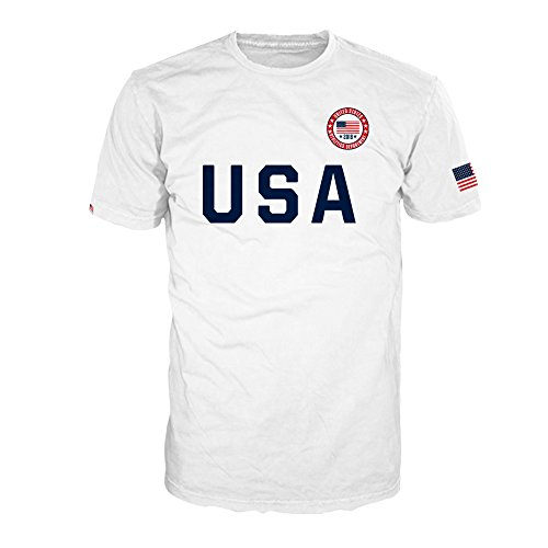 FSD USA 2018 Sporty Athletics Department T-Shirt for Men